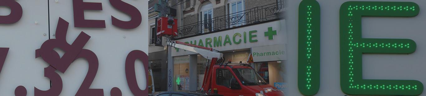 Dépannage maintenance sav enseigne Amiens