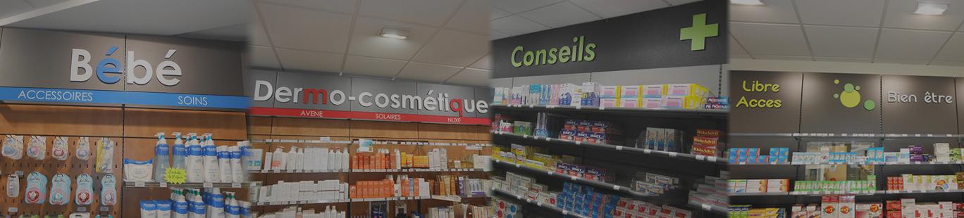 Aménagement interieur pharmacie à Amiens