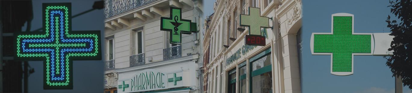 Fabricant, vendeur croix pharmacie Amiens