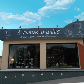 A FLEUR Fabricant enseignes non lumineuse Amiens magasin commerce