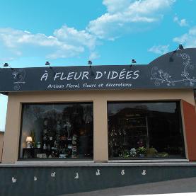 A FLEUR Fabricant enseignes non lumineuse Amiens magasin commerce