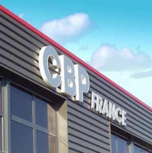 CBP  Enseigne lumineuse entreprise rétro éclairage direct Amiens
