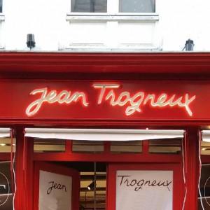 JEAN TROGNEUX Enseigne lumineuseentreprise rétro éclairage direct Amiens