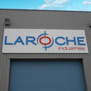 LAROCHE Fabricant enseignes non lumineuse Amiens magasin commerce