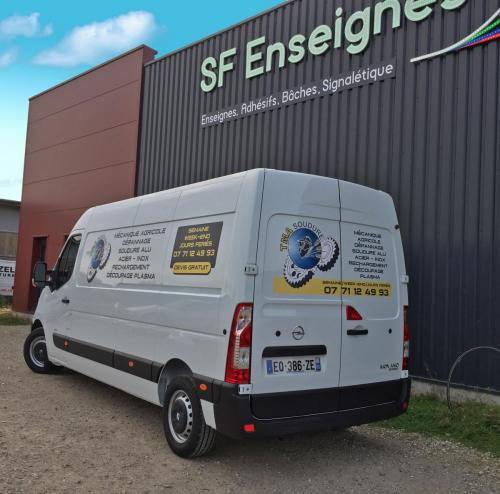 SOUDURE flocage covering véhicule voiture Amiens