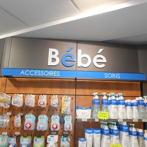 Aménagement intérieur de pharmacie à Amiens