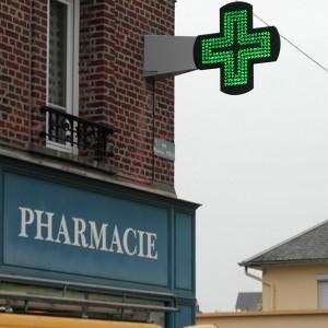 Fabricant et vente de croix de pharmacie à led à Amiens