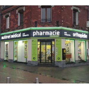 Fabricant enseigne lumineuse de pharmacie à Amiens