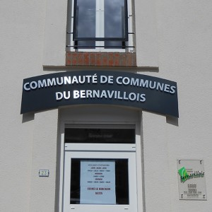 Fabricant enseignes non lumineuse Amiens mairie administration