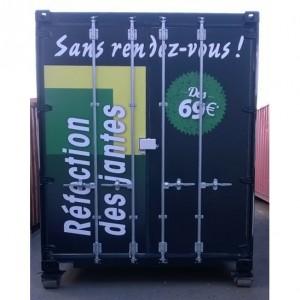 fabricant adhésif container camion Amiens