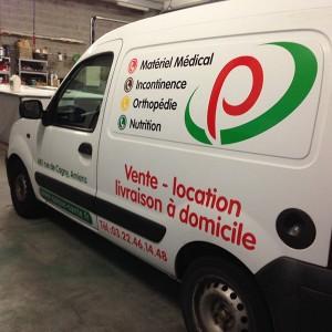 fabricant adhésif véhicule voiture Amiens