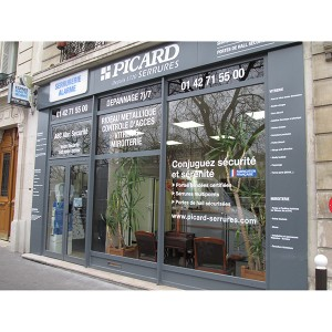 Aménagement façade commerce magasin Amiens