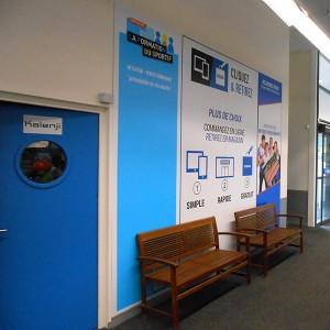 Signalétique PLV Amiens magasin commerce panneau publicitaire
