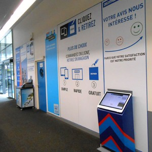 Signalétique Amiens magasin commerce panneau publicitaire