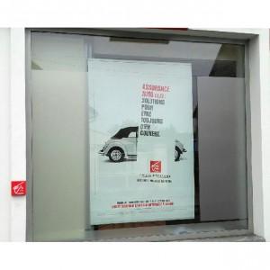 Signalétique PLV Amiens magasin commerce affiche vitrine